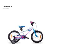 Powerkid 16 white/blue/pink