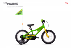 Ghost Powerkid 16 - Green/Yelow