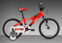"Powerkid 16"" Boy red model 2015"