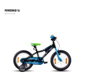 Powerkid 16 black/blue/green model 2016